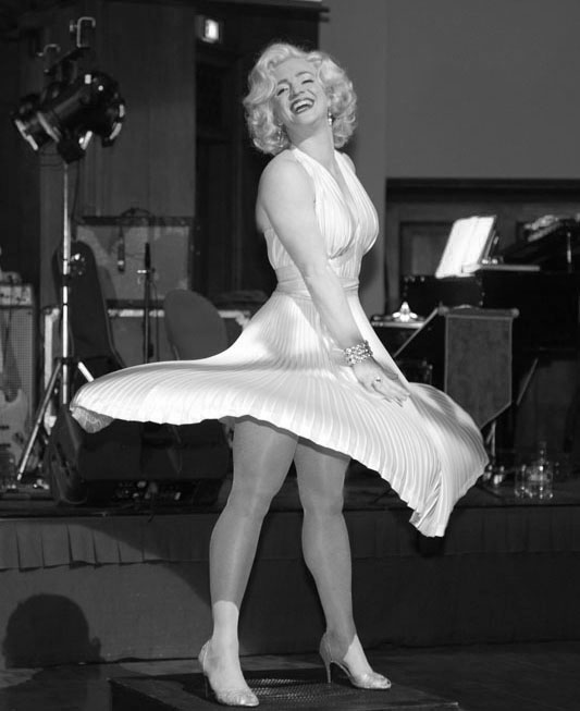Just Like Marilyn Monroe