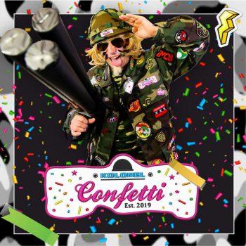 Kolonel Confetti boeken